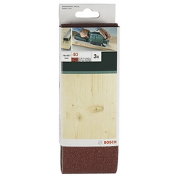 Bosch-3 Nastri Abrasivi Per Levigatrice Nastro