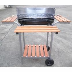 No name - Barbecue a carbonella con ruote