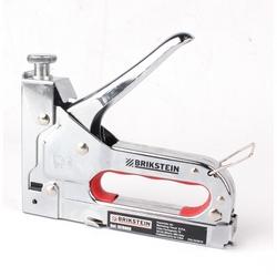 Brikstein - Graffatrice in Metallo Cromato 4-14 mm
