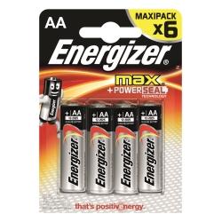 Energizer - Pile Stilo Max x6