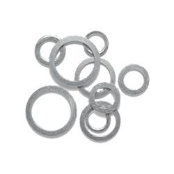 Idrobric - Kit Guarnizioni 1/2 In Alluminio Per Gas