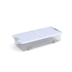 Contenitori portaoggetti e multiuso in vendita online - Contenitori sottoletto con ruote ...