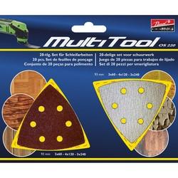 Passat outillage - Dischi abrasivi per Multitool OS220