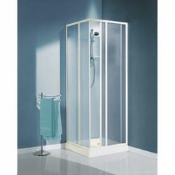 Siro - Box doccia Artico poliestere 68-79 cm