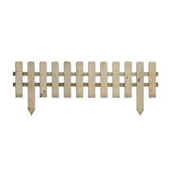 Staccionata in legno brico