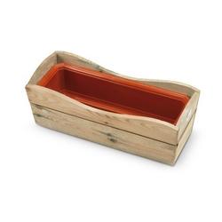 Recinzioni e bordure in legno in vendita online scopri le for Fioriera con grigliato brico