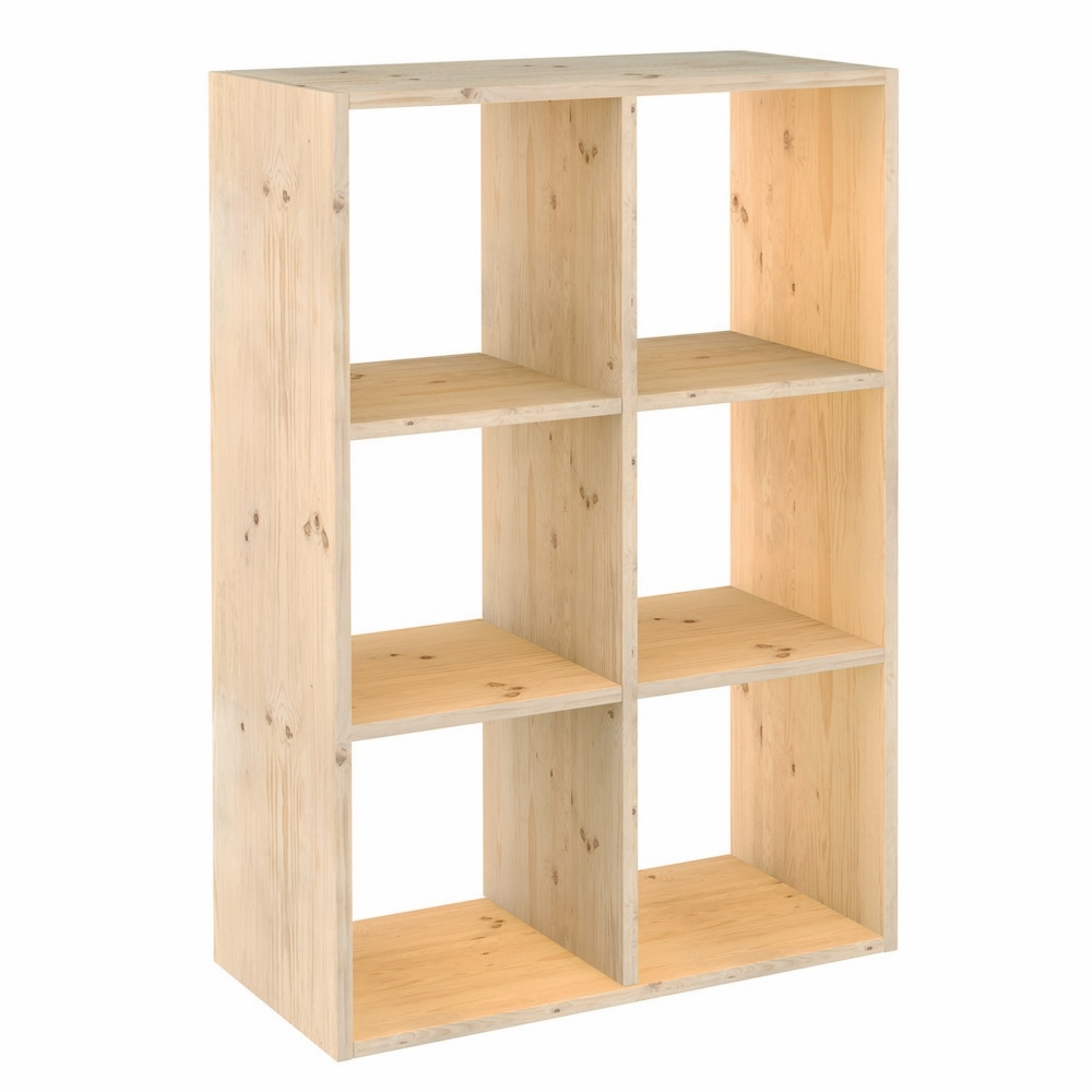 Astigarraga scaffale dinamic 6 cubi shop online su brico io for Scaffali in legno grezzo