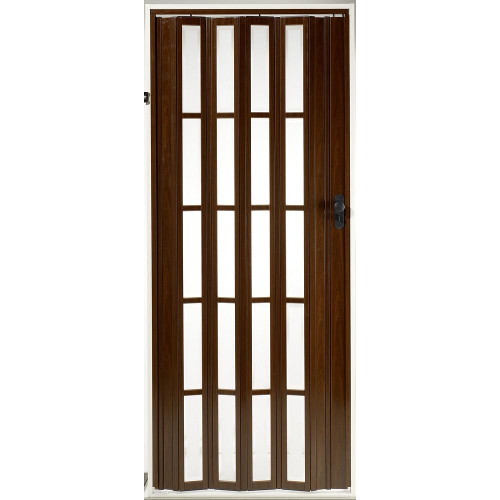 Grosfillex porta a soffietto con vetrata shop online su for Porte a soffietto brico