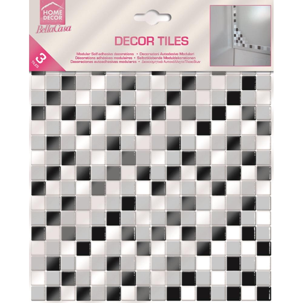 Home decor adesivo tile decor shop online su brico io for Piastrelle adesive brico