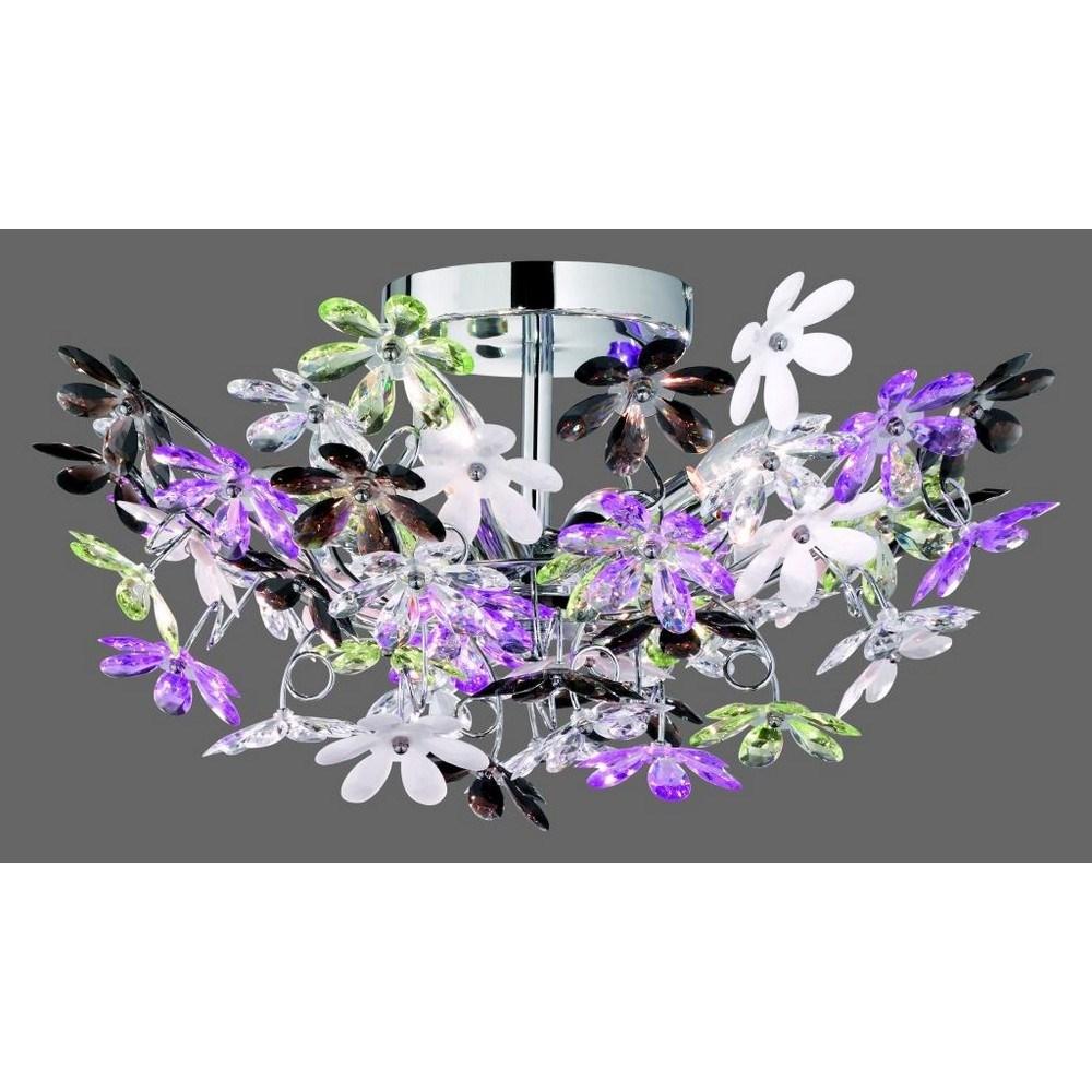Plafoniera flowers   brico io