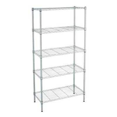 Scaffale 5 piani in acciaio shop online su brico io - Scaffali ufficio ikea ...