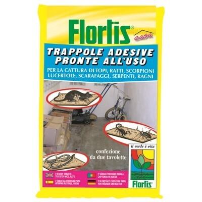 Flortis trappole adesive pronte all 39 uso shop online su - Trappole per serpenti ...