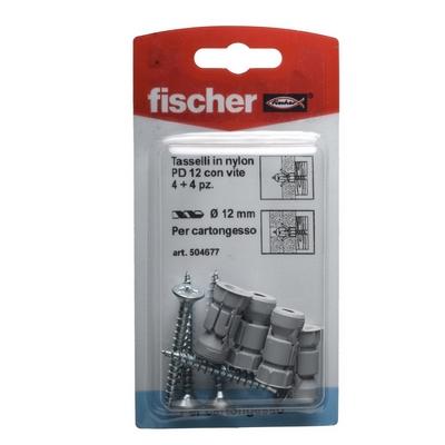 Fischer tasselli nylon per cartongesso con vite shop for Fischer per cartongesso