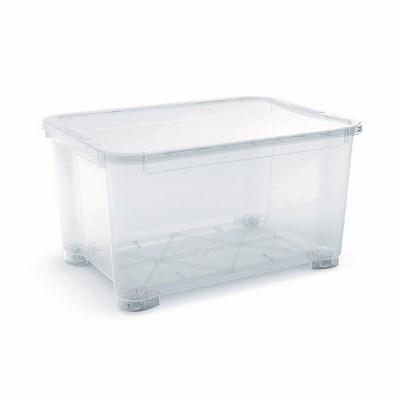 Kis t box trasparente con ruote shop online su brico io - Kis contenitori ...