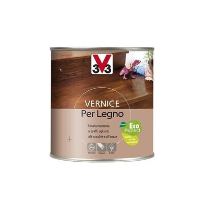 V33 vernice per legno brillante mogano brico io - Vernice per finestre in legno ...