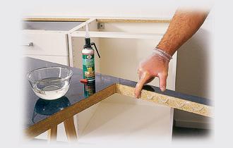 Guarnizione sotto lavello trattamento marmo cucina - Guarnizione scarico lavandino cucina ...