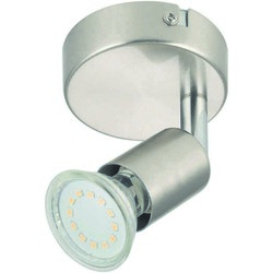 FAN - Led silver 1 luce