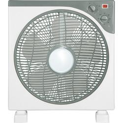 MASTER - Master Ventilatore in box fan 30cm, Grigio, Bianco, AC