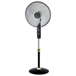 MASTER - Master Ventilatore piantana 40cm lusso con telecomando, Nero, Argento, 400 mm, 1300 mm, 440 mm, 190 mm, 440 mm