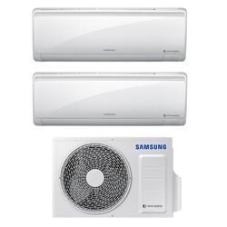 SAMSUNG - Climatizzatore 9000+12000 BTU Quantun Maldives