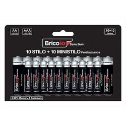 BRICOIO - 10 Stilo AA+ 10 Ministilo AAA