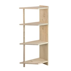 Libreria in kit ad angolo Gala-43,90 €