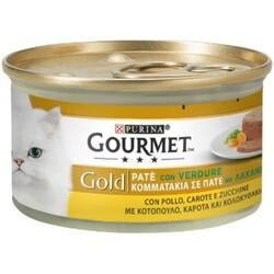 PURINA - Gourmet gold pate con pollo carote e zucchine 85 g