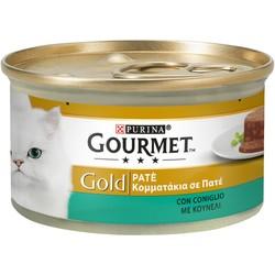 PURINA - Gourmet Gold Gr.85 paté coniglio