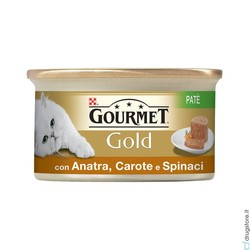 GOURMET - Gourmet Gold Gr.85, Mousse Anatra e Spinaci
