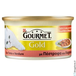GOURMET - Gourmet Gold trota e verdure 85 gr