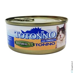 NATURAL PET - Naturalpet Totonno 170 Gr tonno naturale