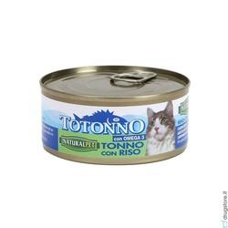 NATURAL PET - Naturalpet Totonno 170 Gr tonno e riso