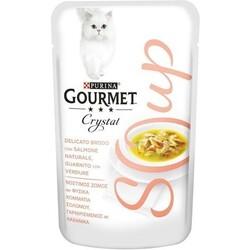 GOURMET - Zuppa per gatti con salmone e verdure