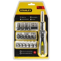 STANLEY - Set portainserti a Cricchetto 054925