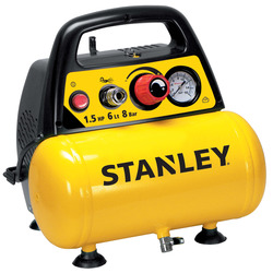 STANLEY - Compressore Coassiale Oilless 6lt - DN200/8/6