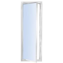 SIRO - Porta doccia ad un anta battente (73-77), h185 cm,