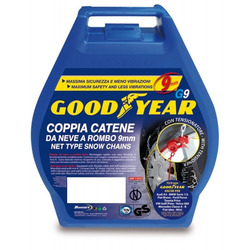 GOOD YEAR - Catene da Neve Goodyear, 9 mm, Gruppo 45