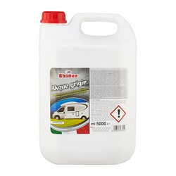 RHUTTEN - Liquido Chimico Akque Grigie 5 Litri