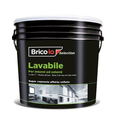 *** - Idropittura Lavabile 4 Lt Bianco