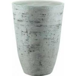 GARDEN SERVICE - Vaso Cemento Country White 33x37 cm