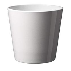 GARDEN SERVICE - Vaso Dallas Bianco 14 cm