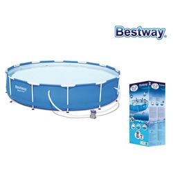 BESTWAY - Piscina Bestway Circolare 366x76 cm