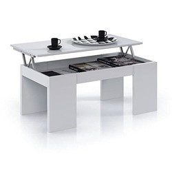 KESTILE - Tavolino Sollevabile Granada A2 Bianco