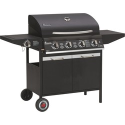 GRILL CHEF - Barbecue a Gas 4 Bruciatori