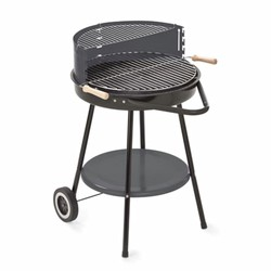 GRILL CHEF - Barbecue a carbonella 48,5 cm Nero