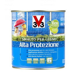 V33 - Smalto per Legno Bianco Ghiaccio 500 ml