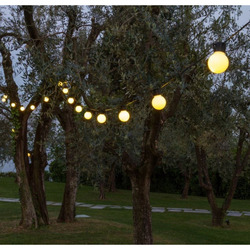 LOTTI - Catena 10 Party Light Bianco