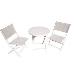 BRICO IO - Set Pieghevole Bistrot Bianco