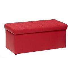 KESTILE - Pouf Contenitore Toy A2 Rosso