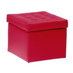 KESTILE - Pouf Contenitore Toy A5 Rosso